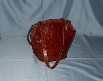 Authentic vintage Furla bag ! Genuine leather!