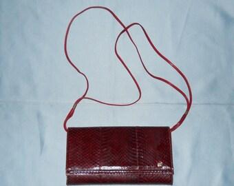 Authentic vintage bag! Genuine python!