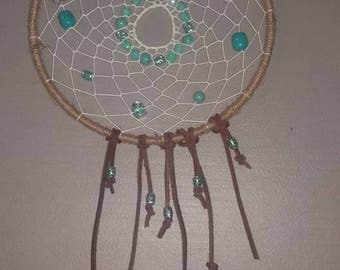 Blue Beaded DreamCatcher