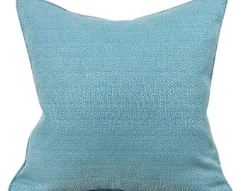 Maya Blue Pebble decorative 20 inch Lumbar Pillow Cover