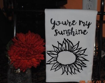 You're my sunshine Tea Towel