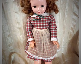 "Vintage American Character Sweet Sue doll, 24"" walker/life size"