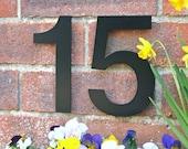 Black House Number House Number  Black Helvetica House Numbers Helvetica House Numbers Contemporary House Numbers Modern House Numbers