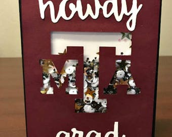 Howdy Grad Texas A&M Graduation Card