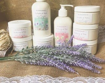 Natural/Organic Body Lotions And Creams- Nourish your skin- Soothing handmade lotions, for ultimate relief and hydration- All Natural