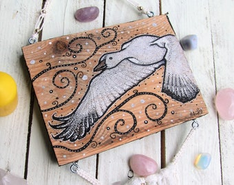 Snow Goose - wall hanging