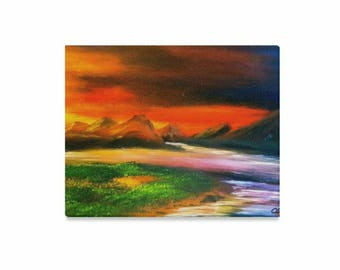 """Canvas Art Print 20""""x16"""" +3 other sizes -A Land Before Time#1- FREE Shipping"""