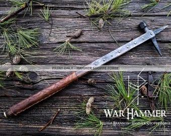 War Hammer PRINT ONLY (past work)