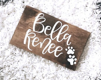Custom Wooden Sign, Size Options, Home Decor