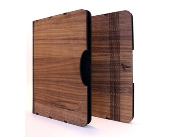 IPad air 2 wood case, real wood Walnut