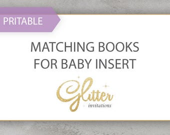 Matching Books For Baby