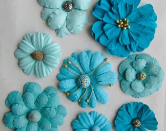 FLOWERS SYMPHONY - Hand made in India