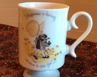 Vintage Holly Hobbie Porcelain Mug ~ Holly Hobbie Cup