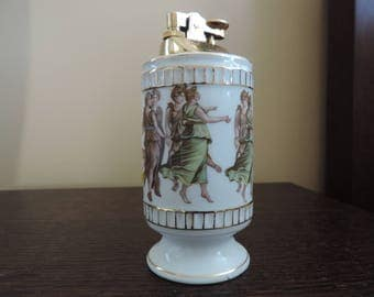 Lighter porcelain - Greek style - vintage