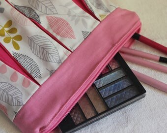 Pleated Makeup Pouch