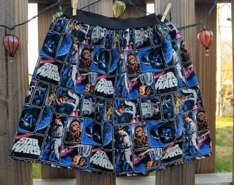 Star Wars Print Skirt