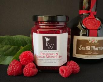 Gourmet Jams and Jellys, Raspberry & Grand Marnier Jam, Hand Crafted Jam, Best Made Jam, Fresh Made Jam, Raspberry Preserves