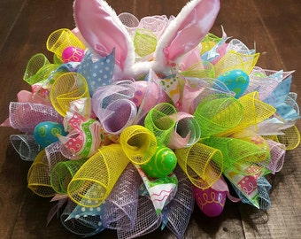 "18"" Spring Centerpiece, coordinating wreath available"