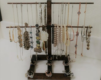 Jewelry Stand - Necklaces, Bracelets, Rings