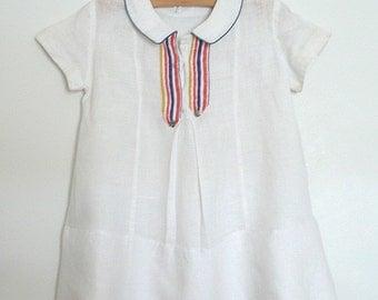 Linen stripe c. 1930
