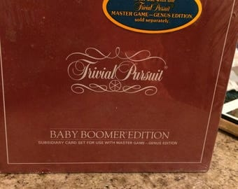 Trivial Pursuit Baby Boomer Edition Extention Pack