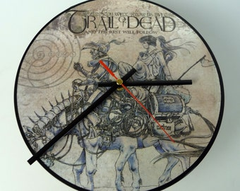 "And You Will Know Us By The Trail Of Dead - 10"" Picture Disc Record Clock"