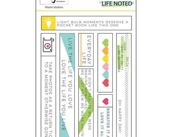 Pinkfresh Studio LIFE NOTED Washi Tape Stickers