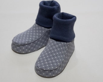 Booties for babies, shoes, socks