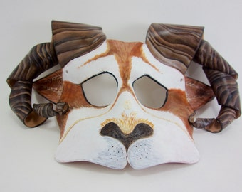 Mountain Goat Leather Masks