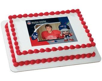 Patriots cake topper Etsy