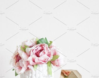 Styled Stock Photo | Pretty Home Decor (Tall) | Blog stock photo, stock image, stock photography, blog photography