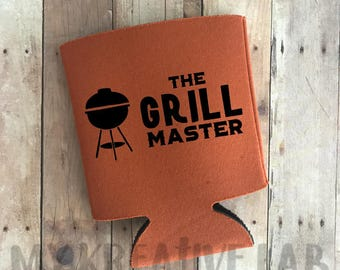 The Grill Master - Can Cooler