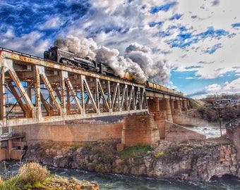 Steam Locomotive #844