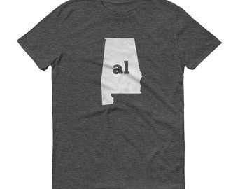 Alabama Tshirt, Alabama Shirt, AL Shirt, Bama Shirt, Alabama Tee, State Pride, Alabama Gifts, Alabama State, Alabama Map, Shirt, TShirt, Tee