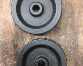 A set of replacement wheels for sliding door hardware
