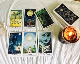 In depth Tarot Reading (same day, fast results)