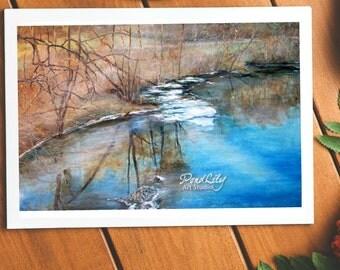 Androscoggin River Card