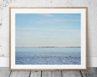 Ocean Photograph, Printable Art, Coastal Photography, Coastal Decor, Digital Download