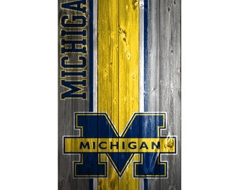 Please Read The Item Details - CUSTOM VINYL Cornhole Board DECAL Michigan Wood Bag Game Sticker
