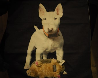 Puppy English Bull Terrier Cushion Cover
