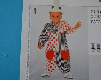 Child clown costume tailor made