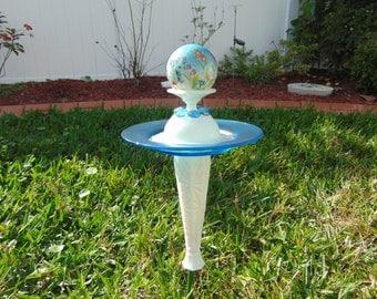 Mini Gazing Ball glass garden totem