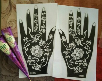 Henna Stencil Set