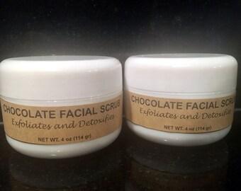 Chocolate Sugar Face Scrub (4 oz)