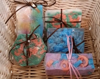 Organic Goats Milk and Glycerin Fun Soaps