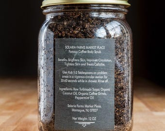 Famous Coffee Body Scrub