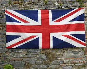 Boldly British Vintage Union Jack. British Flag. Display Flag.