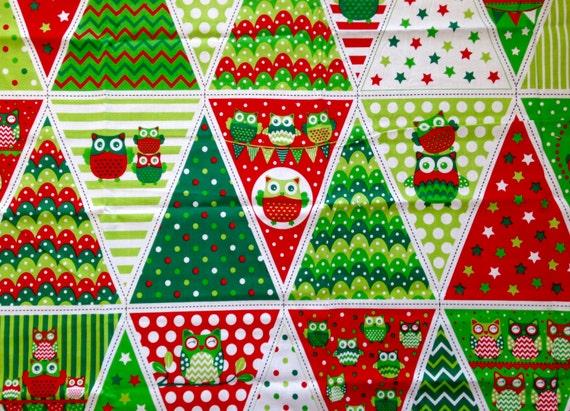 SALE - Christmas Bunting Panels