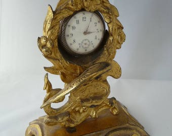 19th century Watch-holder with dragon decoration