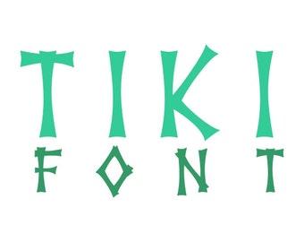 Tiki Decal Etsy